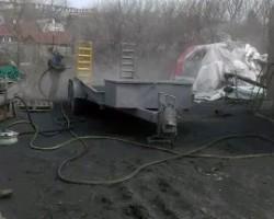 Пескоструйная обработка автоприцепов и цистерн