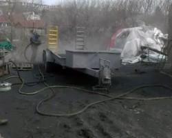 Пескоструйная обработка автомобилей и агрегатов