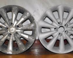 Пескоструйная обработка литых и штампованных дисков